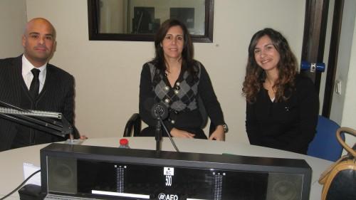 Pedro Teixeira, Rosa Sardo e Marta Couto